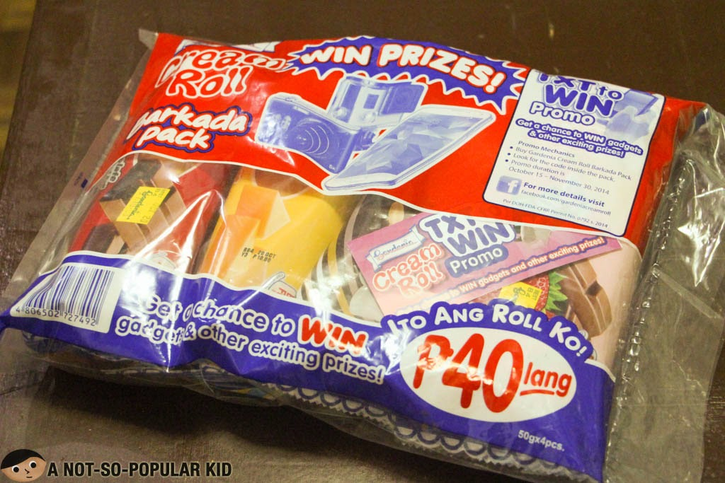 Cream Roll Barkada Pack - Txt to Win Promo