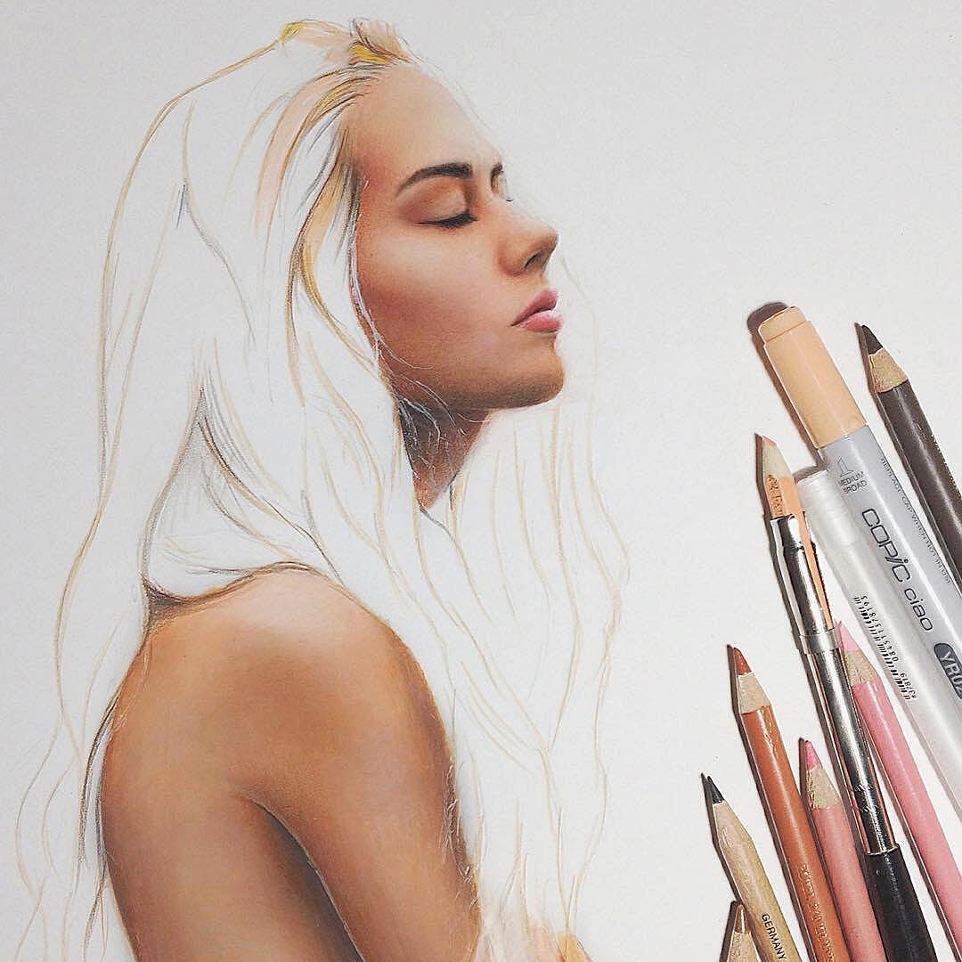 04-Marat-Utamuratov-WIP-Realistic-Portrait-Sketches-www-designstack-co