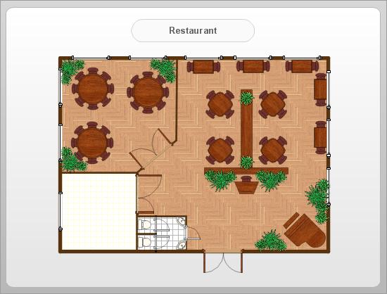 How To Make A Restaurant Floor Plan: Indoor & Outdoor Resturant Floor Layouts
