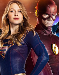 """THE FLASH"" y ""Supergirl"" [DC Comics]."