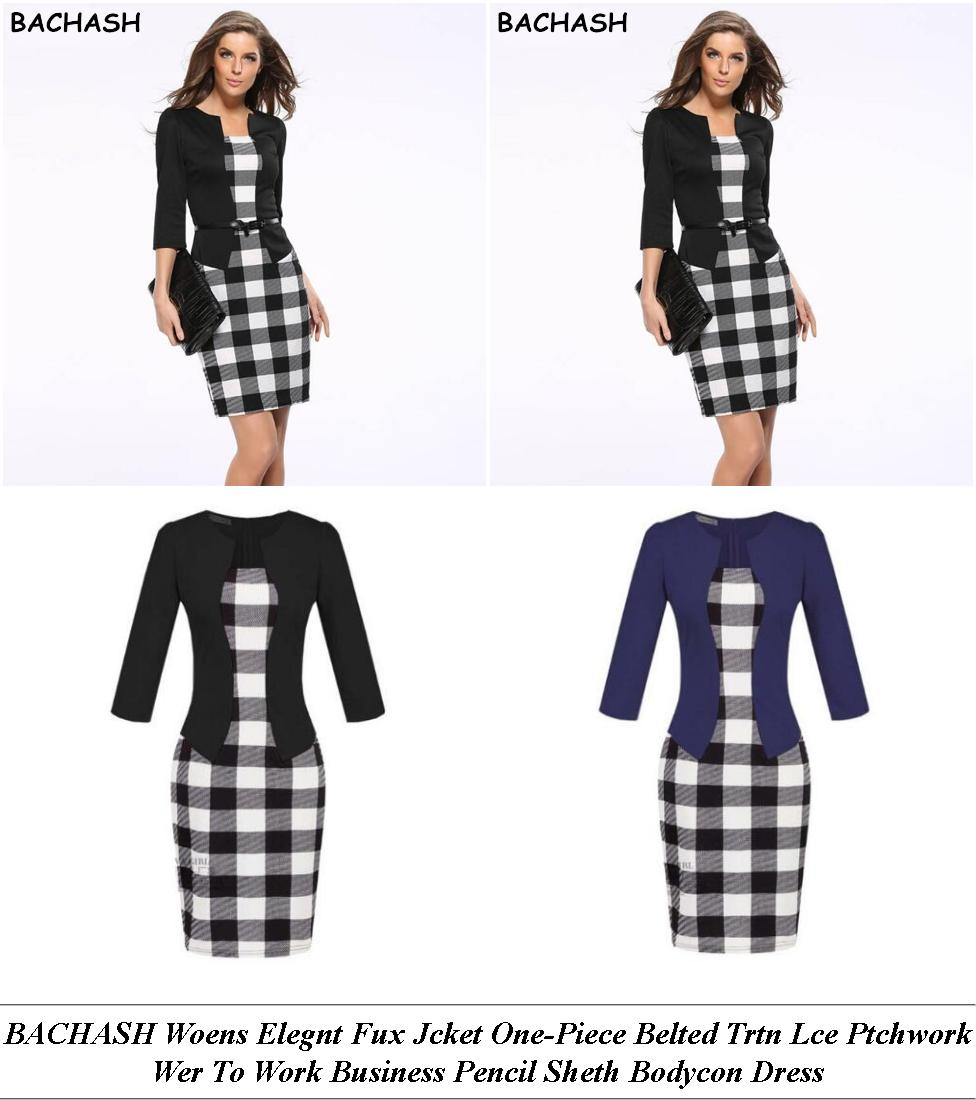 Womans Dresses - Clothes Sale - Midi Dress - Cheap Online Shopping Sites For Clothes