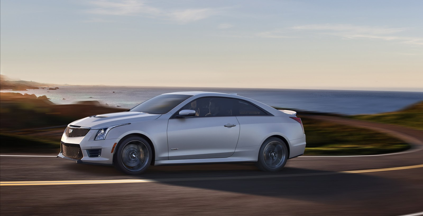 Cadillac's New 2016 ATS-V Sedan and Coupe with 455HP [w/Video]