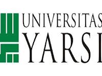 PENERIMAAN CALON MAHASISWA BARU (UNIV YARSI) 2021-2022