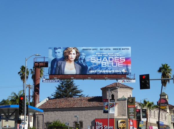 Shades of Blue NBC series billboard