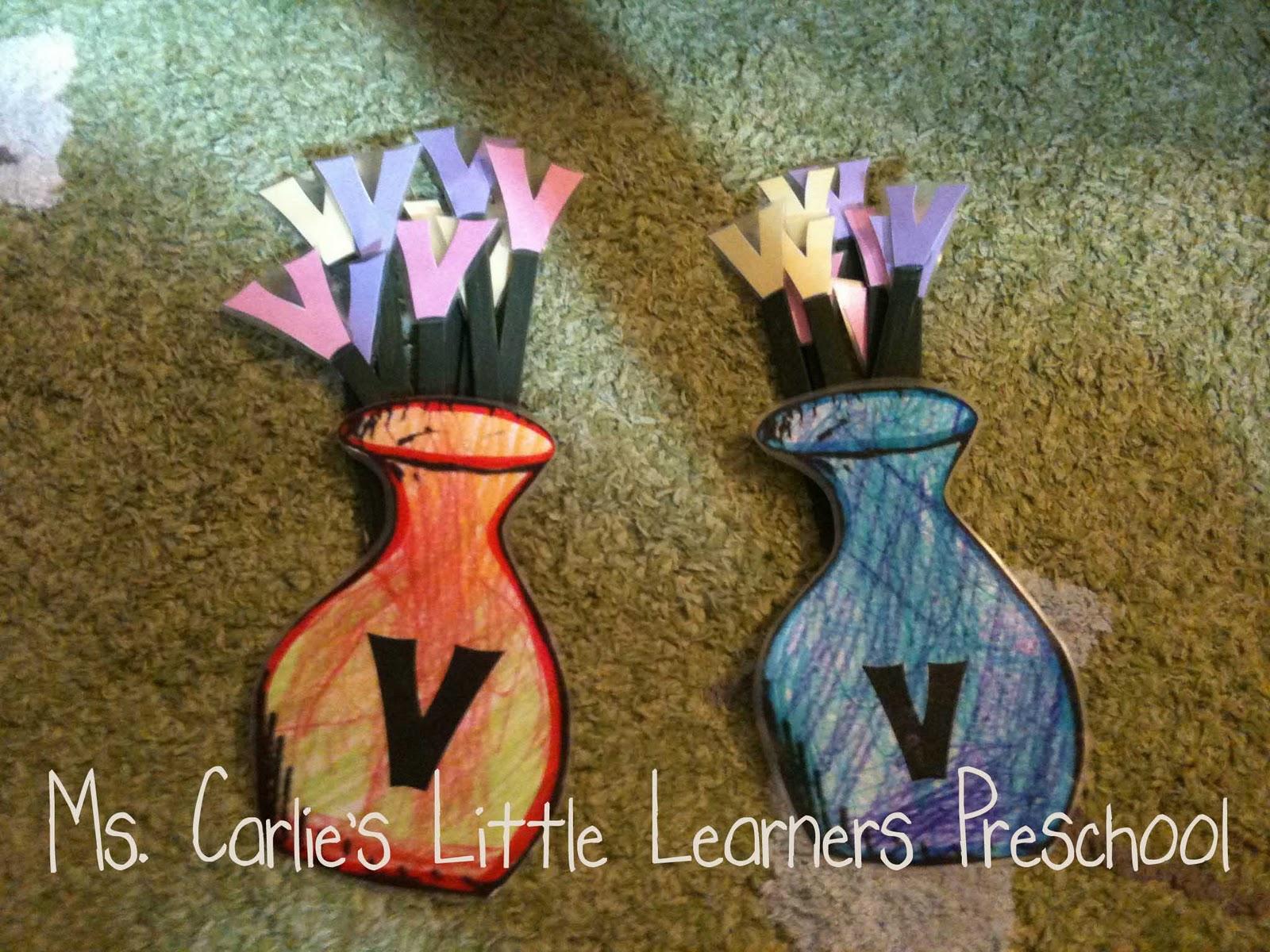 Ms Carlie S Little Learners Preschool Letter V Games Amp Activities