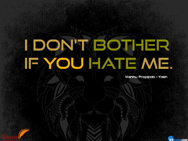 if you hate me attitude quotes