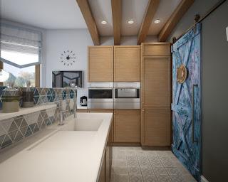 3d визуализация кухни 3д