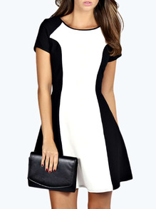 www.shein.com/Black-White-Short-Sleeve-Color-Block-Dress-p-226033-cat-1727.html?aff_id=2525