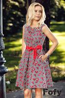 rochie-fofy-eleganta-cu-flori-rosu-cu-negru-imprimate