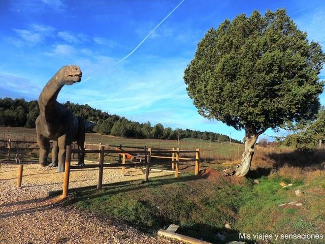 Ruta de los dinosaurios, un viaje a través del tiempo en la Sierra de la Demanda