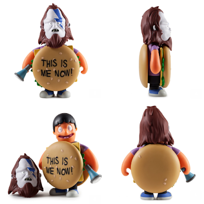 "Kidrobot Exclusive ""This Is Me Now"" Purple Edition Bob's Burgers Beefsquatch 7"" Vinyl Figure by Kidrobot x FOX"