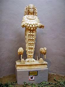Artemisa y su polimastia