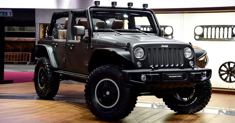 Jeep's New Wrangler Unlimited Rubicon Stealth Study and X ...