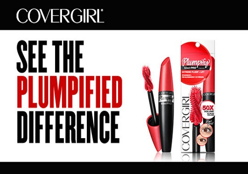 Bzzagent CoverGirl Plumpify Mascara