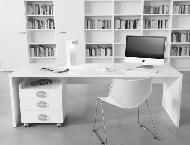 best buy white modern contemporary home office furniture for sale