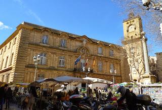 Hôtel de Ville o Ayuntamiento de Aix en Provence.