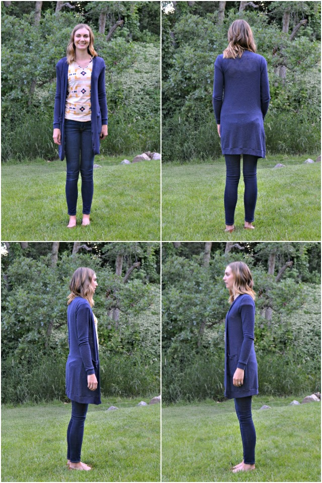Me Made: DIY Long Cardigan with Pockets