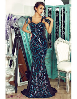 Rochie De Ocazie Elegant Turquoise