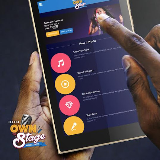 @TecnoMobileNG #OwnTheStageKaraoke Contest: sing to win $25,000! + more