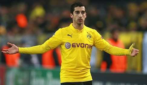 Henrikh Mkhitaryan could leave Dortmund