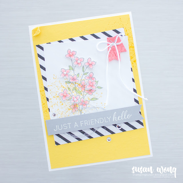 Another Wonderful Year + Touches of Texture by Stampin' Up! - General Use Card by Susan Wong