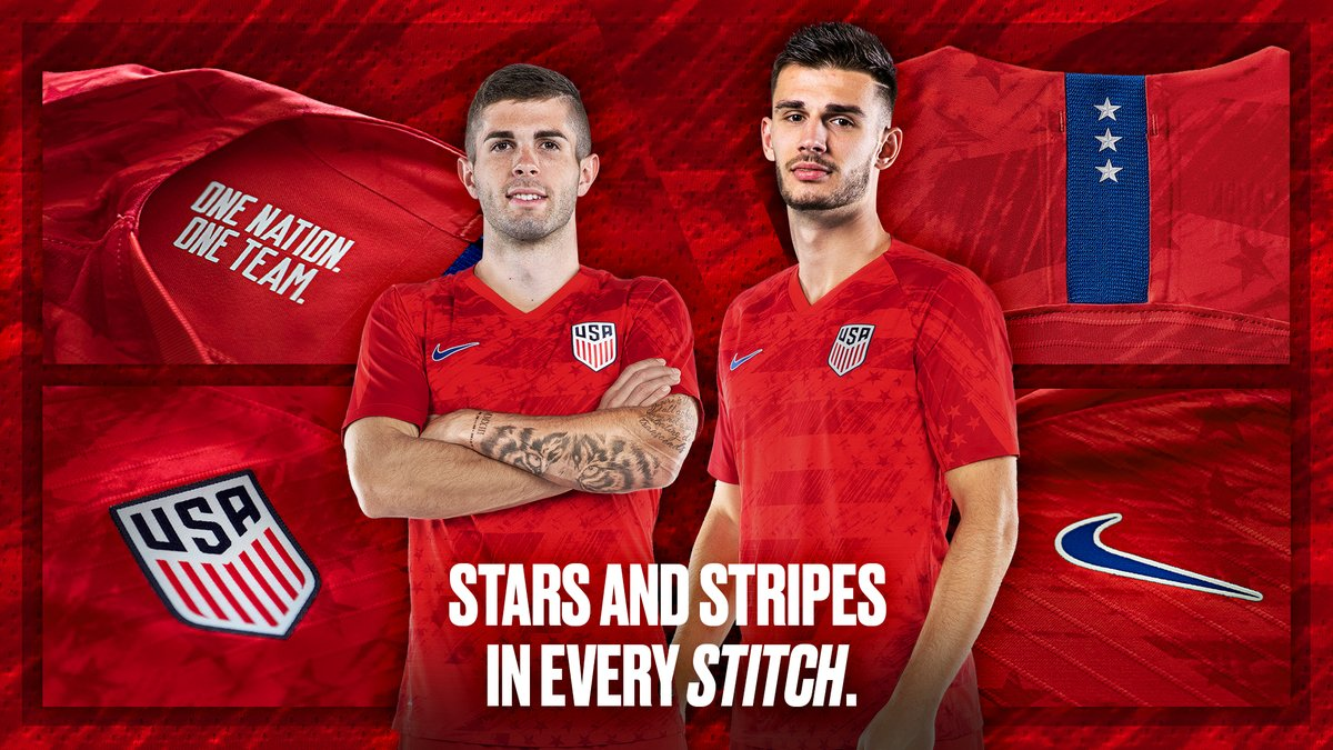 f505b15d5 Nike USA 2019 Gold Cup Away Kit Released - Footy Headlines