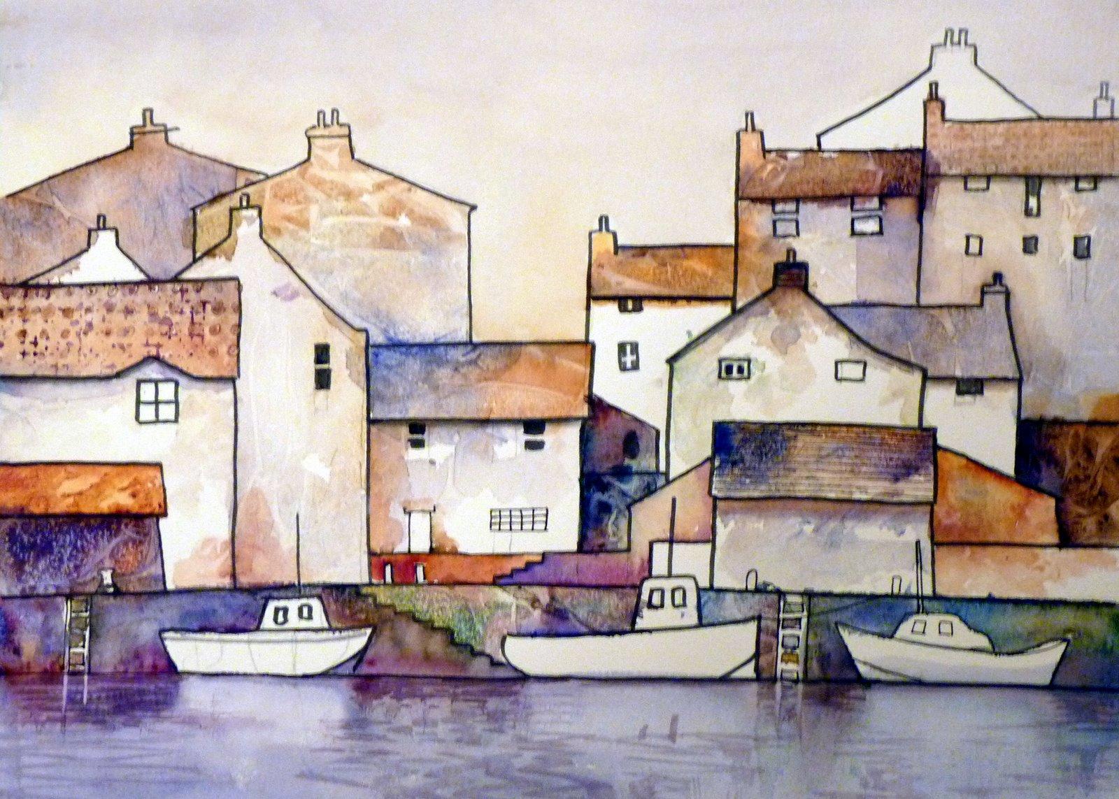 Malcolm Coils Watercolours