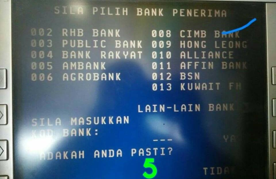 Cara Nak Transfer Duit Dari Akaun Maybank Ke Akaun Bank Lain