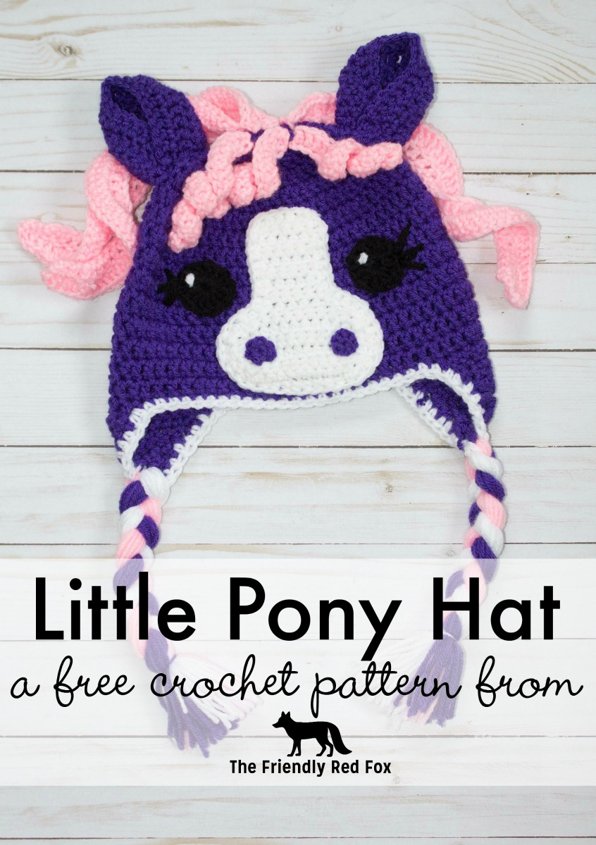 Character and Animal Crochet Hat Patterns - thefriendlyredfox.com c9b05e33192