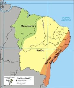 Agreste no Nordeste Brasileiro