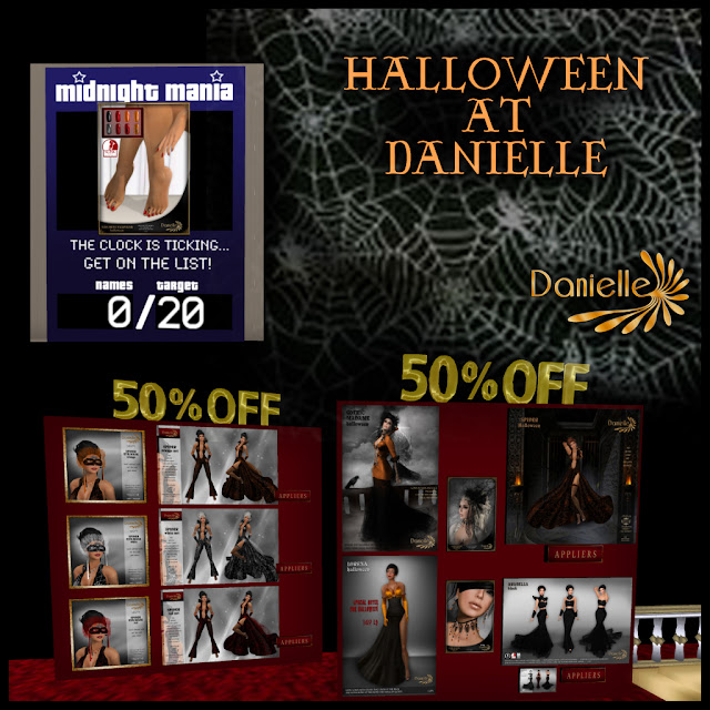 Sale 50% Off And MM Board For Halloween