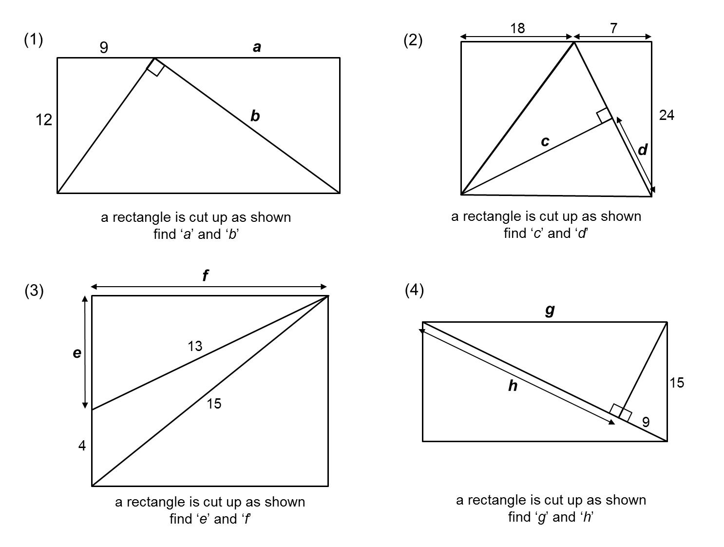 Median Don Steward Mathematics Teaching Pythagorean
