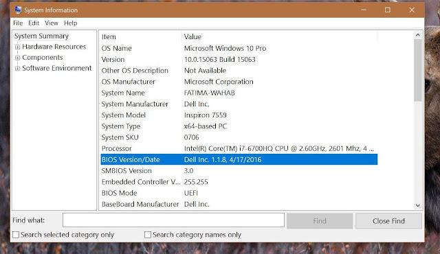 Cara Mencari Versi BIOS dan Update Pada Windows 10 2