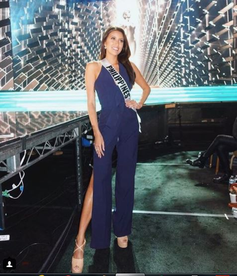 Miss Philippines Rachel Peters tries to bring home the crown