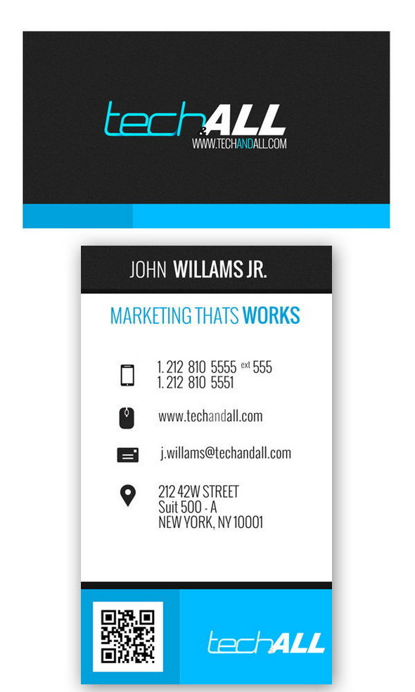 Corporate Free Business card PSD Template