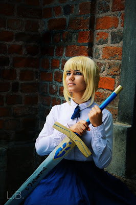 "Saber Cosplay (""Fate/stay night"")"