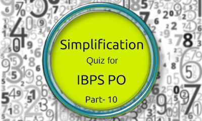 Simplification Quiz