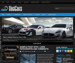 TheCars 3 Column Blogger Template
