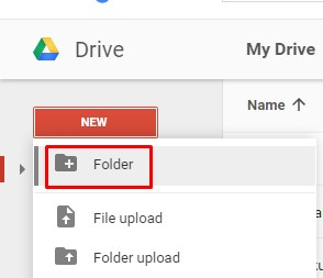create web using google drive