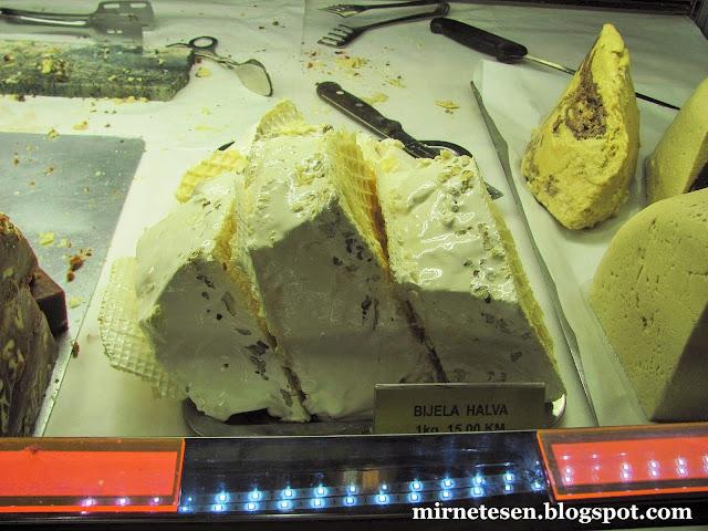 Боснийские сладости: белая халва