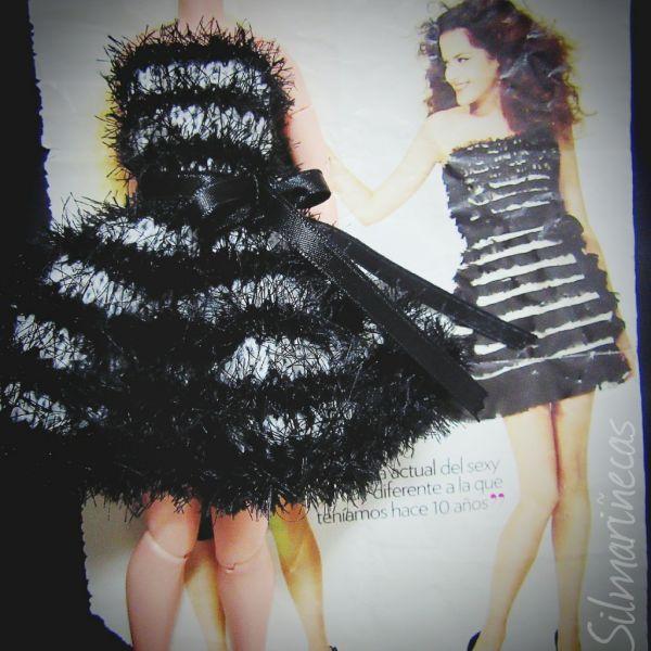 vestido de noche para Blythe