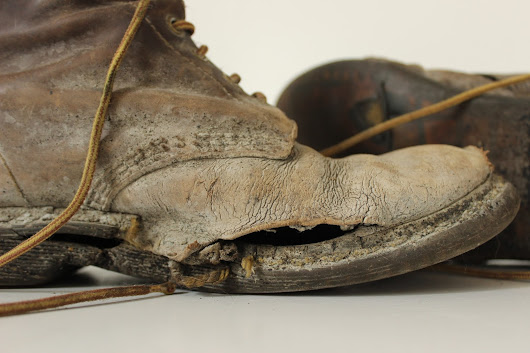 A Pair of Worn Boots
