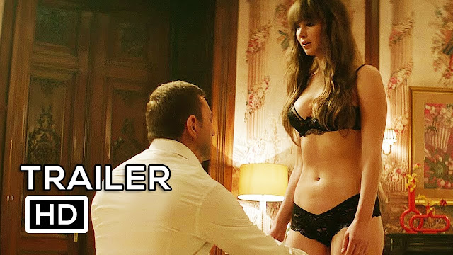 Red Sparrow Trailer 3 New 2018 Jennifer Lawrence Movie( HD)- Very Sexy Movie 2018