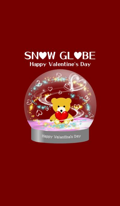 SNOW GLOBE -Happy Valentine's Day-