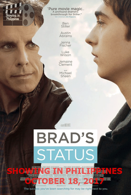 Brad's Status in Philippine Cinemas on October 18, 2017