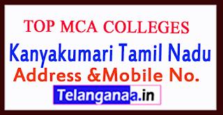 Top MCA Colleges in Kanyakumari Tamil Nadu