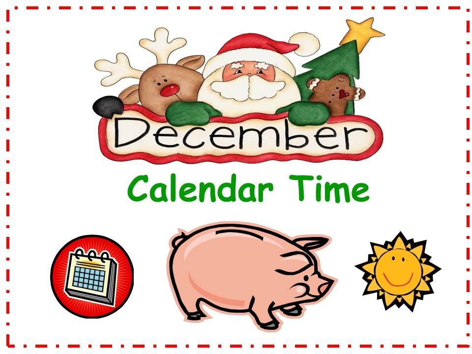 December Calendar Smartboard