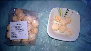 Gelbe Sanddorn Bonbons