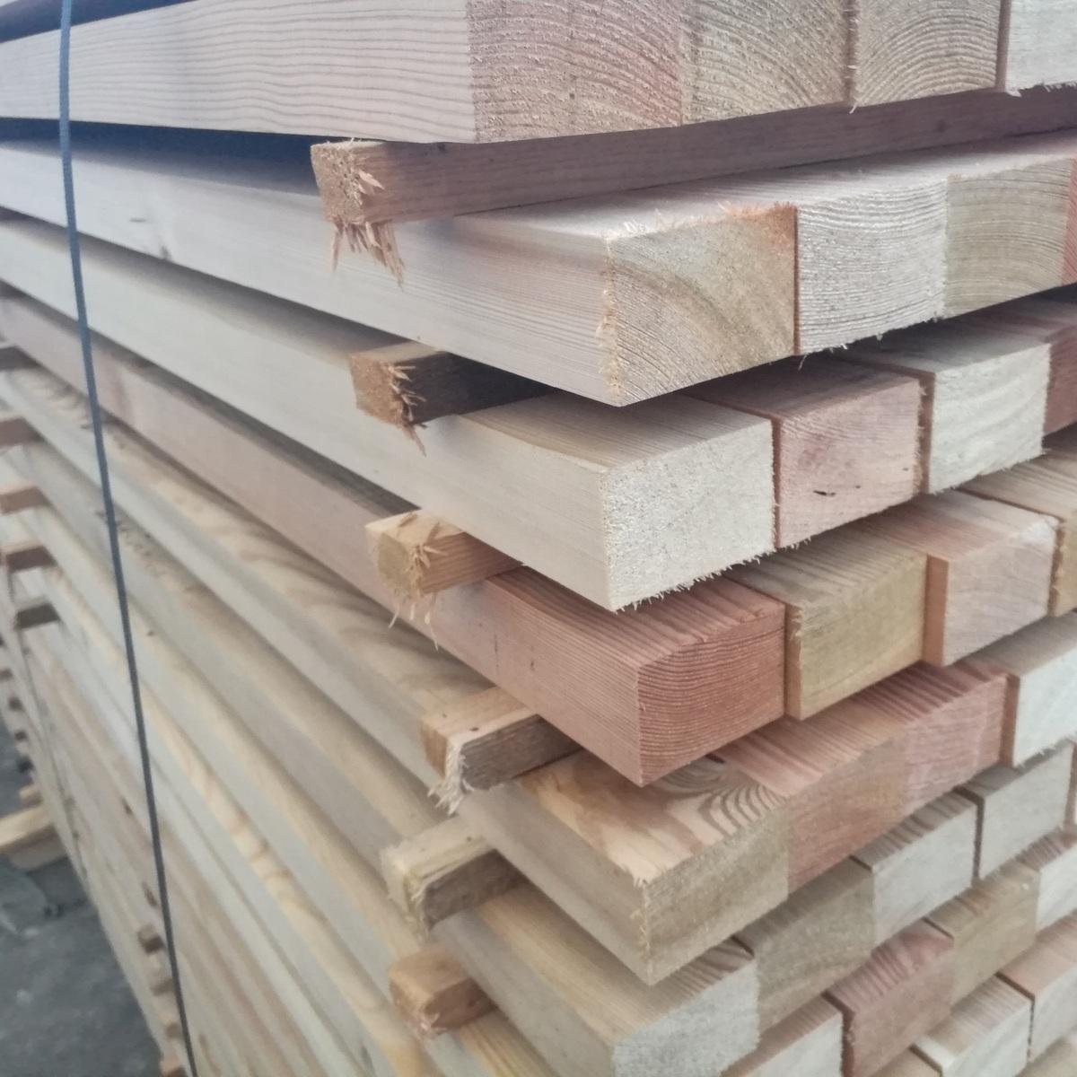 45x67mm 3m sibirische l rche kantholz unterkonstruktion bohlen konstruktionsholz ebay. Black Bedroom Furniture Sets. Home Design Ideas