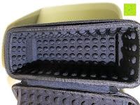 innen: Tragbare Tragetasche Lycra EVA Spielraum-Speicher-Schutzhülle Box Bag für Bose Soundlink Mini and Soundlink mini Ⅱ Bluetooth Wireless Speaker-Black
